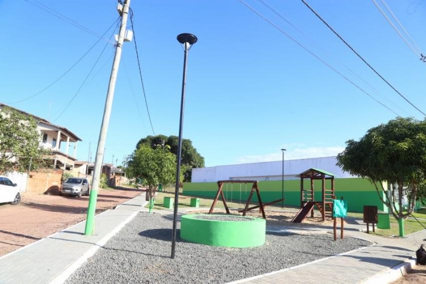Inauguração Praça Amarino Batista Alves Floresta